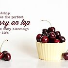 Cherry Friendship Card by Tracy Friesen