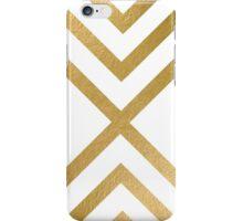 modern art gold pattern iPhone Case/Skin