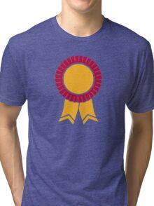 Rosette winners badge Tri-blend T-Shirt