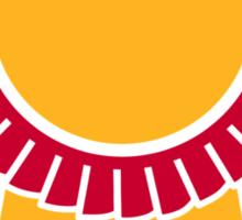 Rosette winners badge Sticker