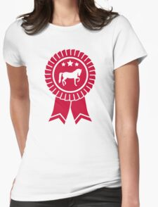 Horse dressage rosette ribbon T-Shirt