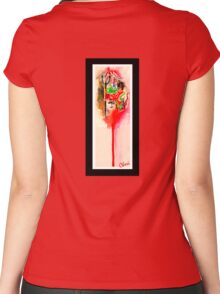 Guess Who Women's Fitted Scoop T-Shirt