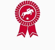 Horse show jumping rosette ribbon Unisex T-Shirt