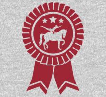 Horse vaulting ribbon winners badge One Piece - Long Sleeve