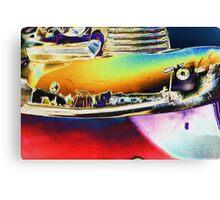 1953 Chevy Bumper Canvas Print