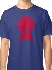 Red rosette winners badge Classic T-Shirt