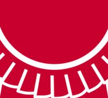Red rosette winners badge Sticker