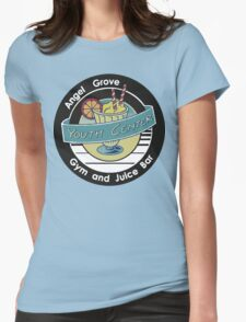 Angel Grove Youth Center - MMPR Womens Fitted T-Shirt