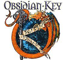 Obsidian Key - SLY Dragon - Progressive Rock Metal Music - (Epic Style) - FD Photographic Print