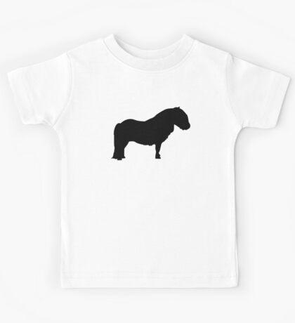 Shetland pony Kids Tee