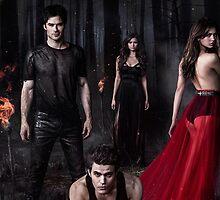 The Vampire Diaries by Yasminhenry23