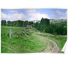 """Rural Path"" Poster"