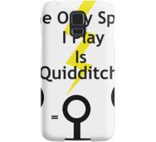 Harry Potter Quidditch Samsung Galaxy Case/Skin
