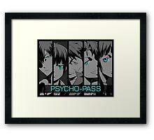 Psycho - Pass Framed Print