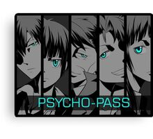 Psycho - Pass Canvas Print