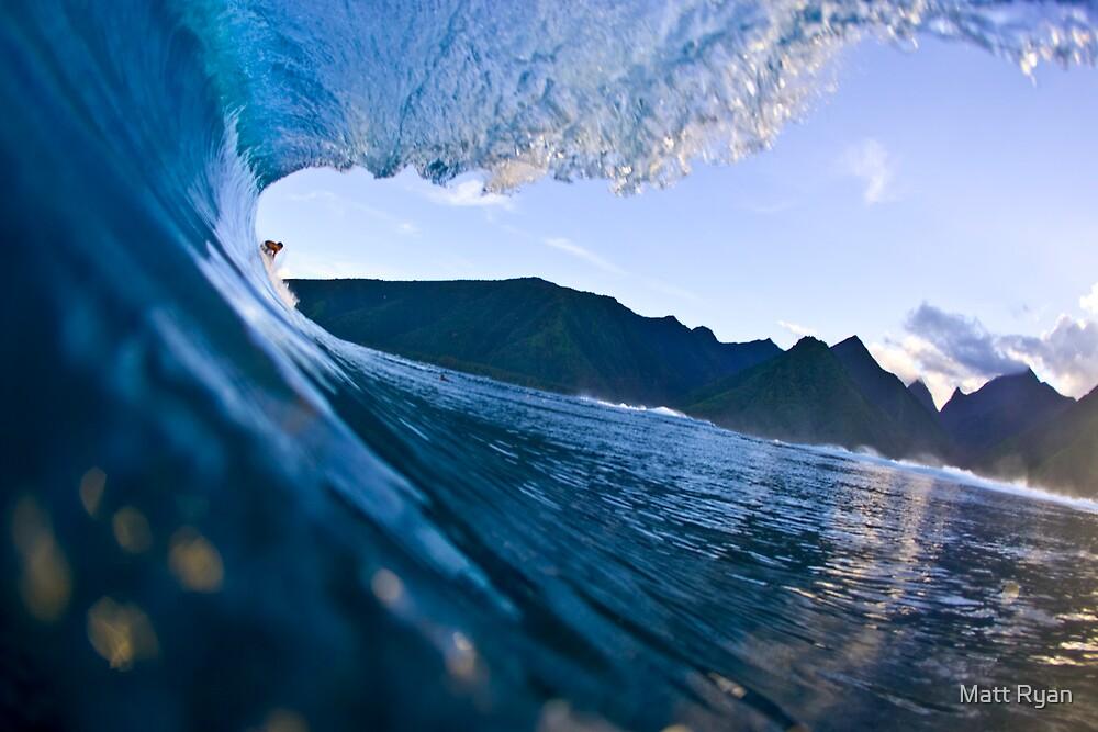 Teahupoo, Tahiti by Matt Ryan
