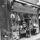 Tasty Treats Inside - Salumeria, Verona, Italy by Katherine Wiles