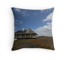 Caretaker's Cottage Cape Otway Throw Pillow