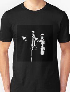 Psycho-Pass Pulp Fiction Crossover Unisex T-Shirt