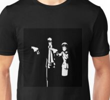 Psycho-Pass Pulp Fiction Crossover Unisex T-Shirt