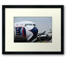 Came to visit and stayed... Framed Print