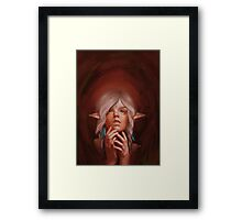 Elf Princess Framed Print