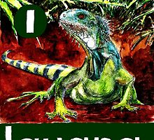 I is for Iguana by DavidDonovan