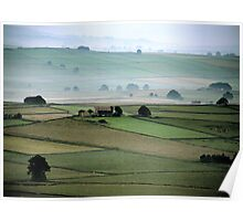 """""""Misty Morning in Hope Valley"""" Poster"""