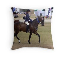 Dressage 02 Throw Pillow