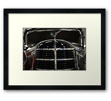 Soviet retro car  Framed Print