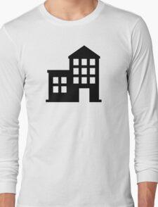 School building Long Sleeve T-Shirt