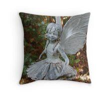 Fir Forest Fairy Throw Pillow