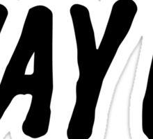 Way Up Sticker