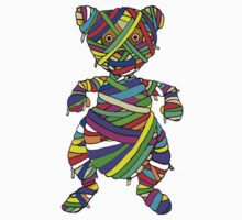 Mummy Bear ran Out of WHite BAndages by Malkman