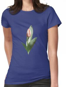 Tulip Coming Out Womens Fitted T-Shirt