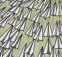 Paper Airplane 88 by YoPedro