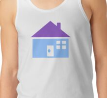 Blue house Tank Top