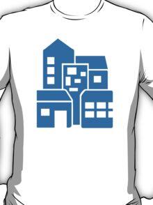 Blue buildings T-Shirt