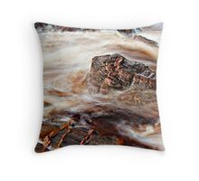Randolph's Leap - Red River Throw Pillow