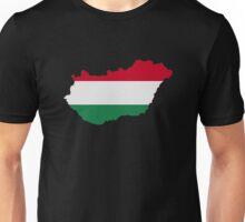 Hungary map flag Unisex T-Shirt