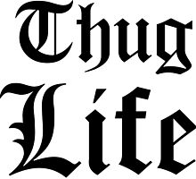 Thug Life 2Pac Tupac by abstractoworld