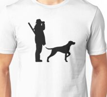 Hunter dog Unisex T-Shirt