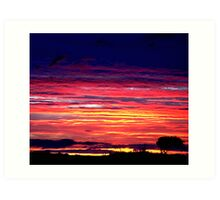 """Northumberland Sunrise"" Art Print"