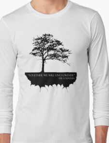 Together We Will Live Forever - THE FOUNTAIN Long Sleeve T-Shirt