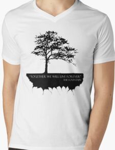 Together We Will Live Forever - THE FOUNTAIN Mens V-Neck T-Shirt