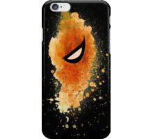 Deathstroke Mask Splash iPhone Case/Skin
