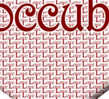 Doccubus Happy Valentines Day Sticker