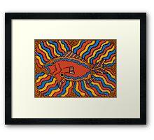 Aarl - (fish) lalin season (summer) Framed Print