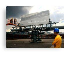 Solar Installation Canvas Print
