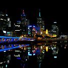 Melbourne Reflection by Bill Fonseca